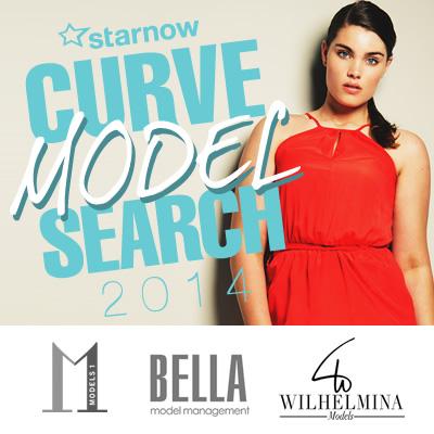 StarNow Curve Model Search 2014