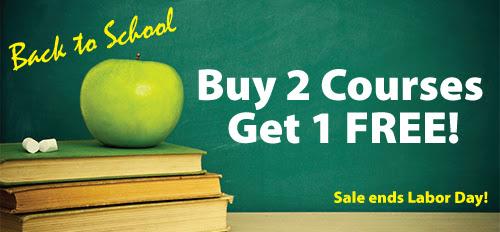 Back to School CE Sale