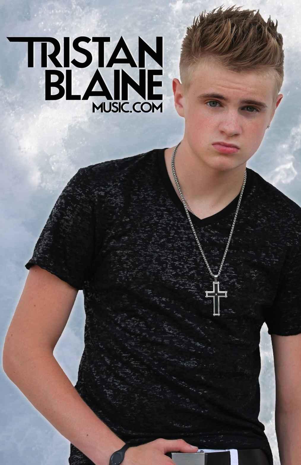 National recording pop artist Tristan Blaine launches eight-city tour