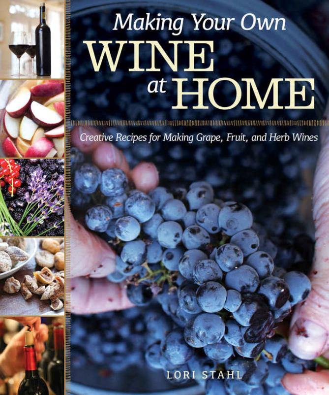 New book shows how even beginners can successfully make wine at home