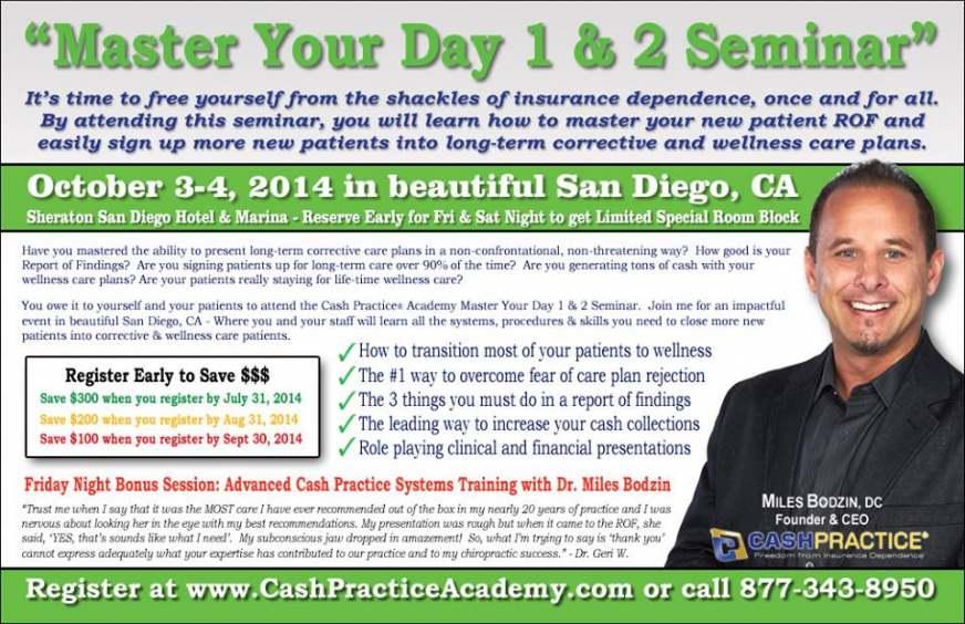 Cash Practice® Academy Informational Flyer