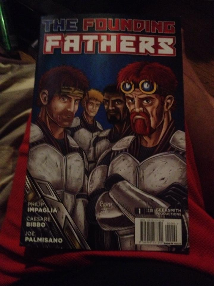 Founding Fathers Comic Book