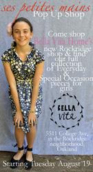 Ses Petites Mains Pop Up Shop at Bella Vita Home