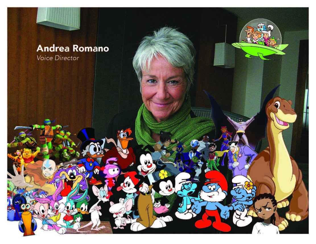 Andrea Romano, Keynote Speaker; VO Atlanta 2015