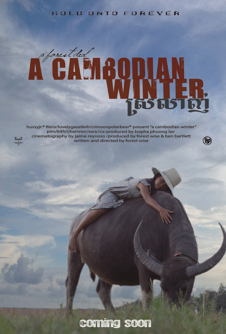 A Cambodian Winter Poster (early concept)
