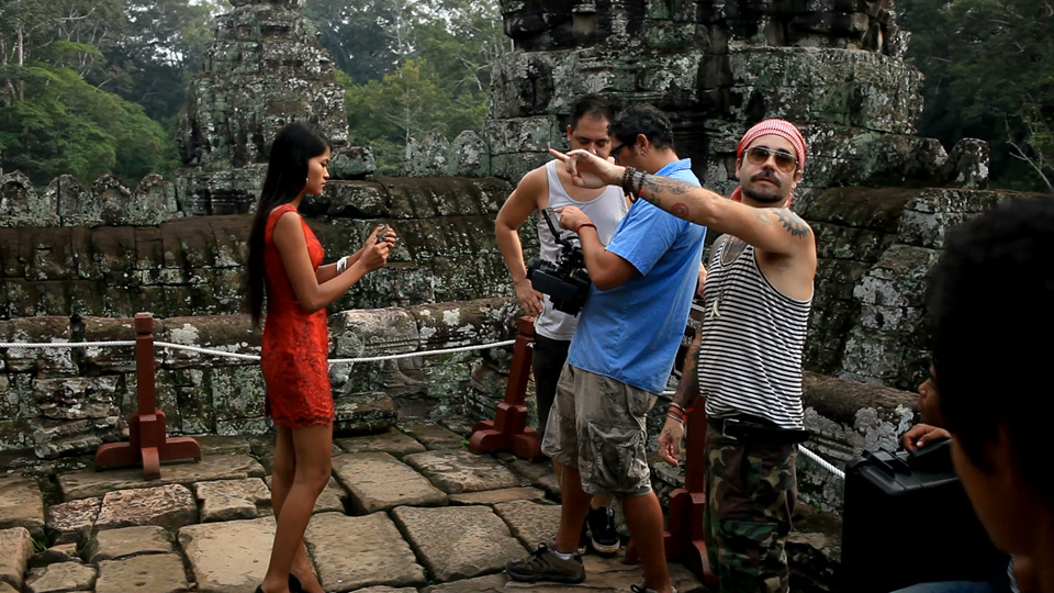 Forest Directing in The Bayon with Soksara Oun (Adult Pim)