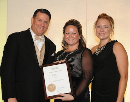 FPRA State President with Tiffany Whitaker & Samantha Scott, APR at Golden Image