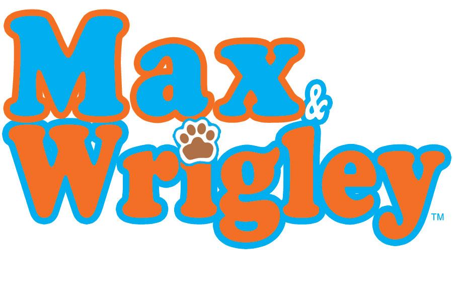 Max & Wrigley Children Television Series Logo