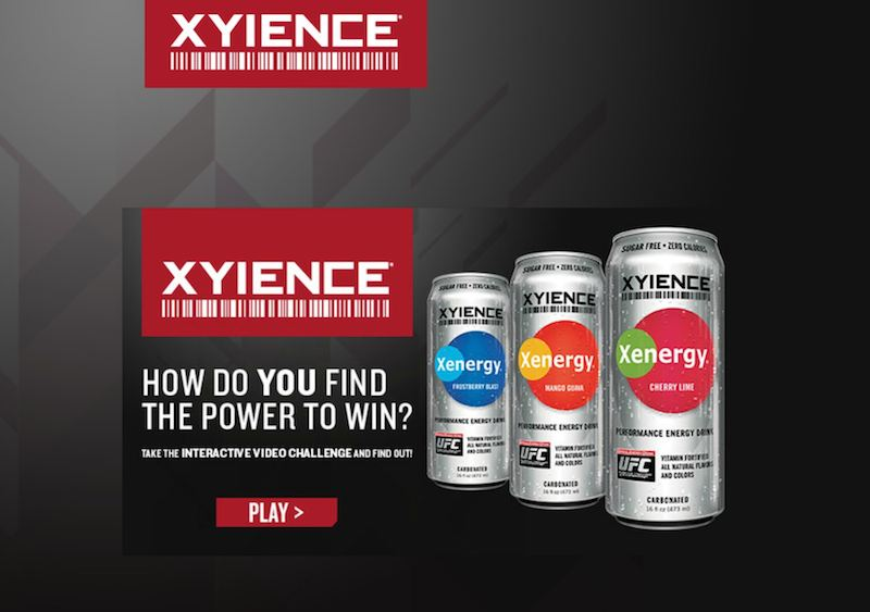 XYIENCE Interactive Ad