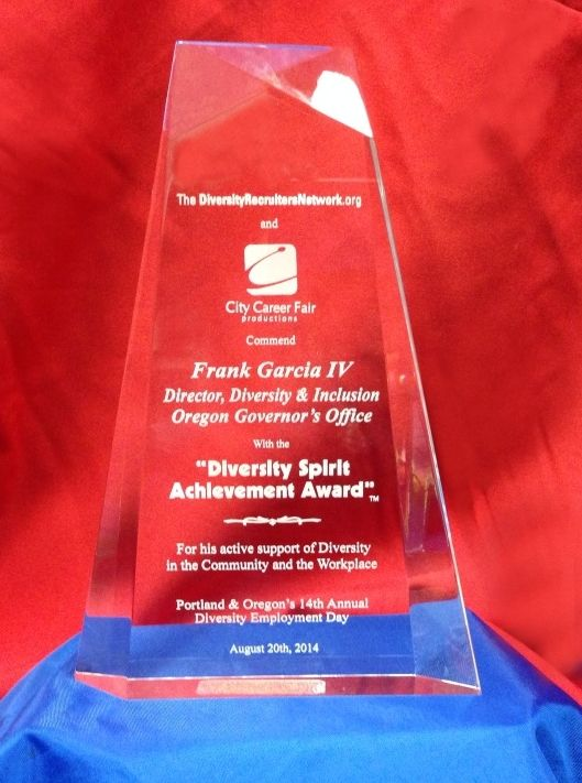 Frank Garcia IV Diversity Spirit Achievement Award