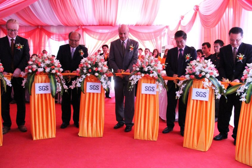 SGS opens new textile testing laboratory in Cambodia