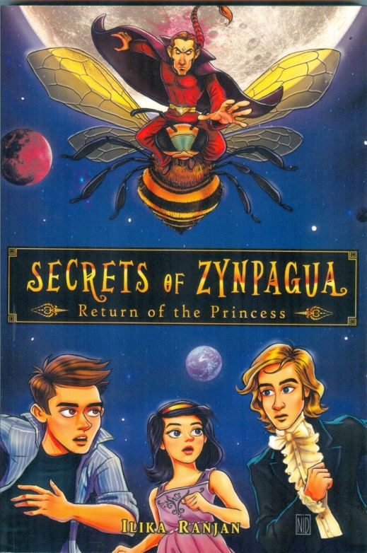 Secrets of Zynpagua -Return of the Princess (Cover