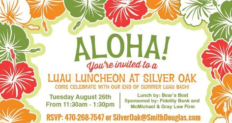 Luau Agent Luncheon at Silver Oak