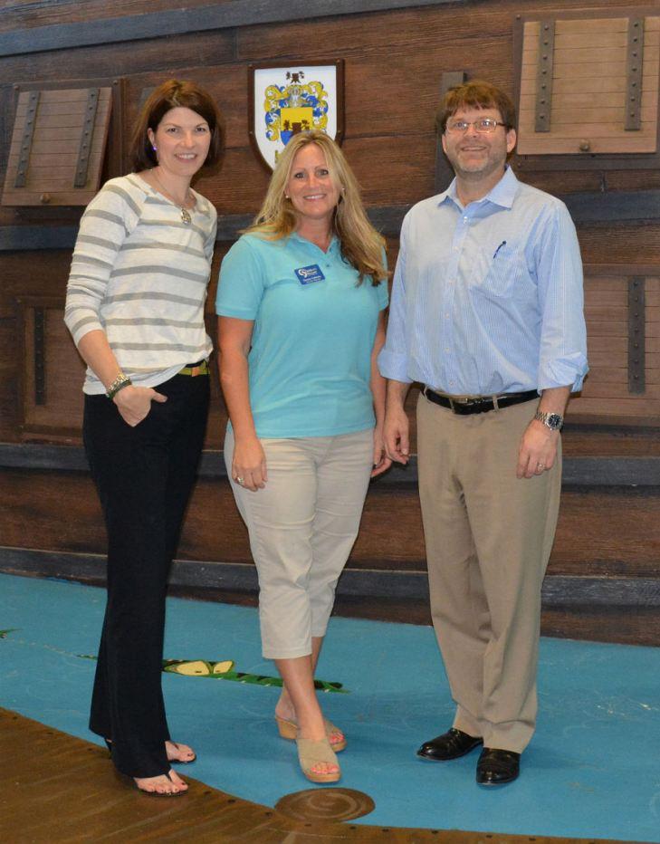 Marilee Emerson, Tammy Calabria, and Scott Metelko