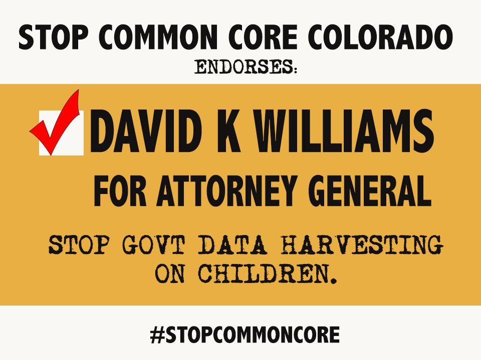 STOPCOMMONCORE CO endorses DKW
