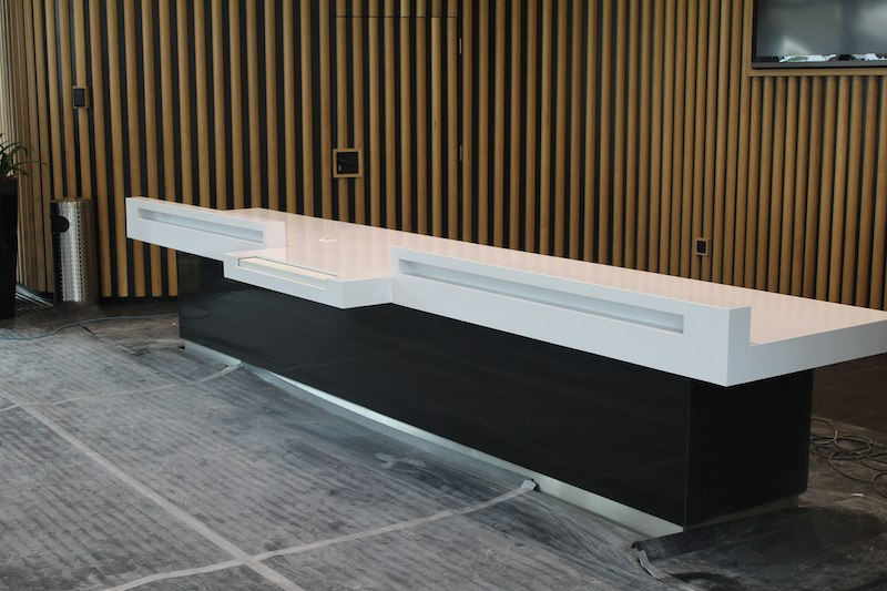 Marble And Granite Manufacture New Reception Desk For