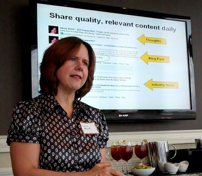 Internet Marketing Expert Gloria Rand