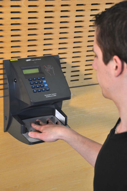 Bodet's Biometric Hand Terminal