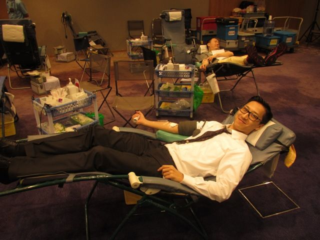 Blood Donation Day at Novotel Century Hong Kong