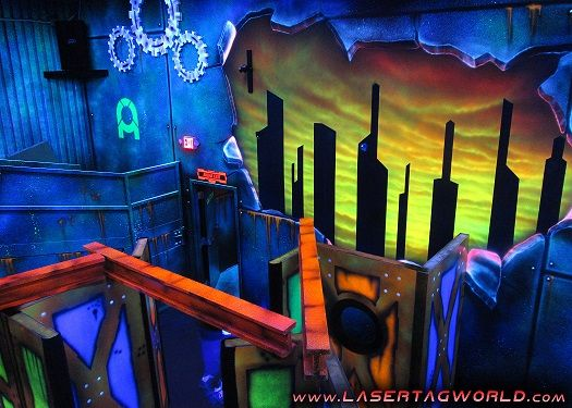 Creative Works Designs Custom Laser Tag Arenas