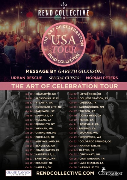 Rend Collective - The Art Of Celebration Tour