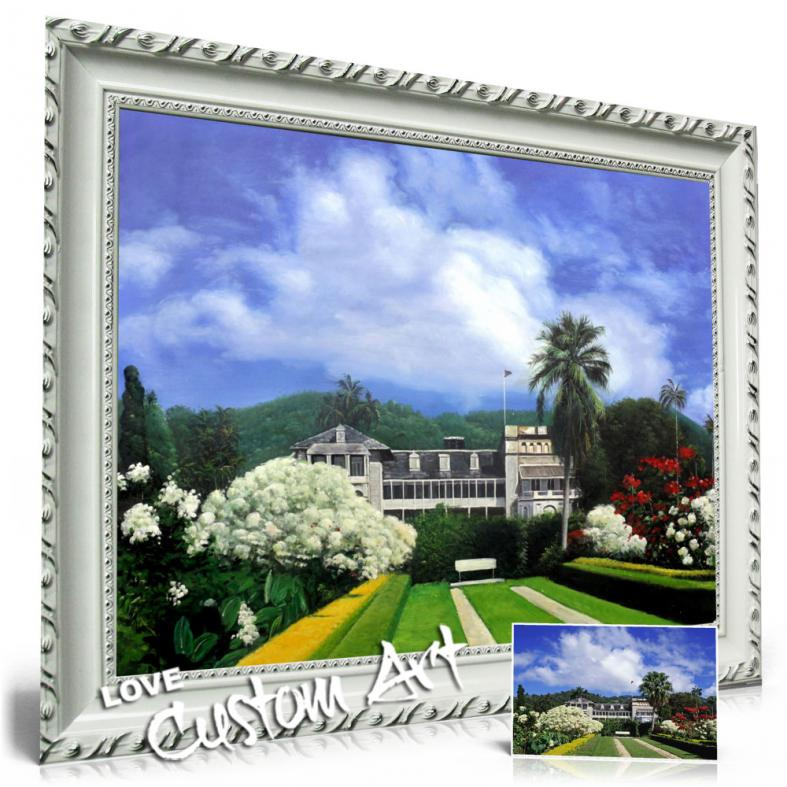 Nice with silver frame
