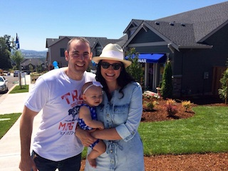 Macadam's Randy Vanlant And His Family