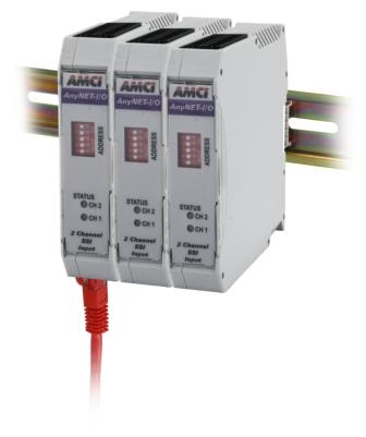 AMCI AnyNET I/O ANE2 Networked SSI Interface