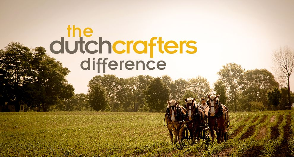 DutchCrafters' strengths (quality Amish products, service) make for success