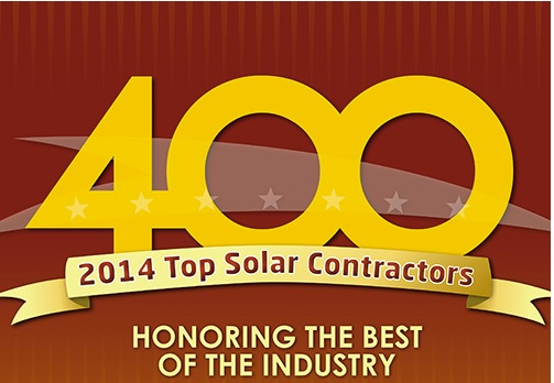 Clean Footprint Named Top Solar Contractor