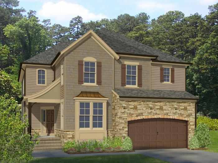 Wellspring Village Brunswick Model Rendering