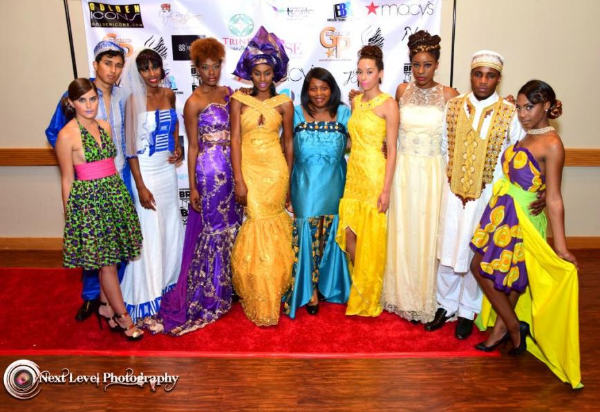 TeKay Designs at African Fashion Week Houston. Photo by Next Level Photography.