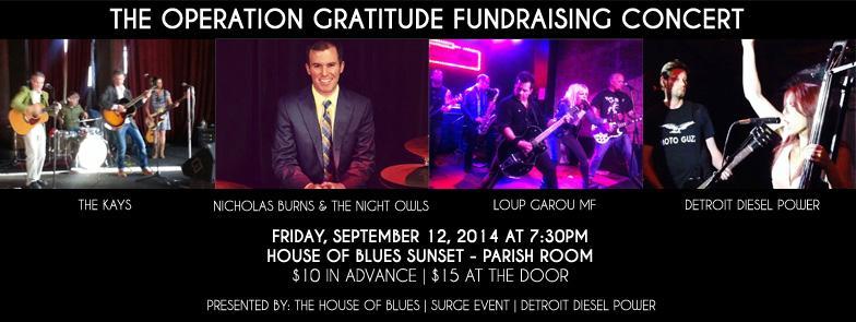 Detroit Diesel Power Hosts Operation Gratitude Benefit Concert