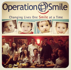 Team TAG raising money at Shakeys for Op Smile