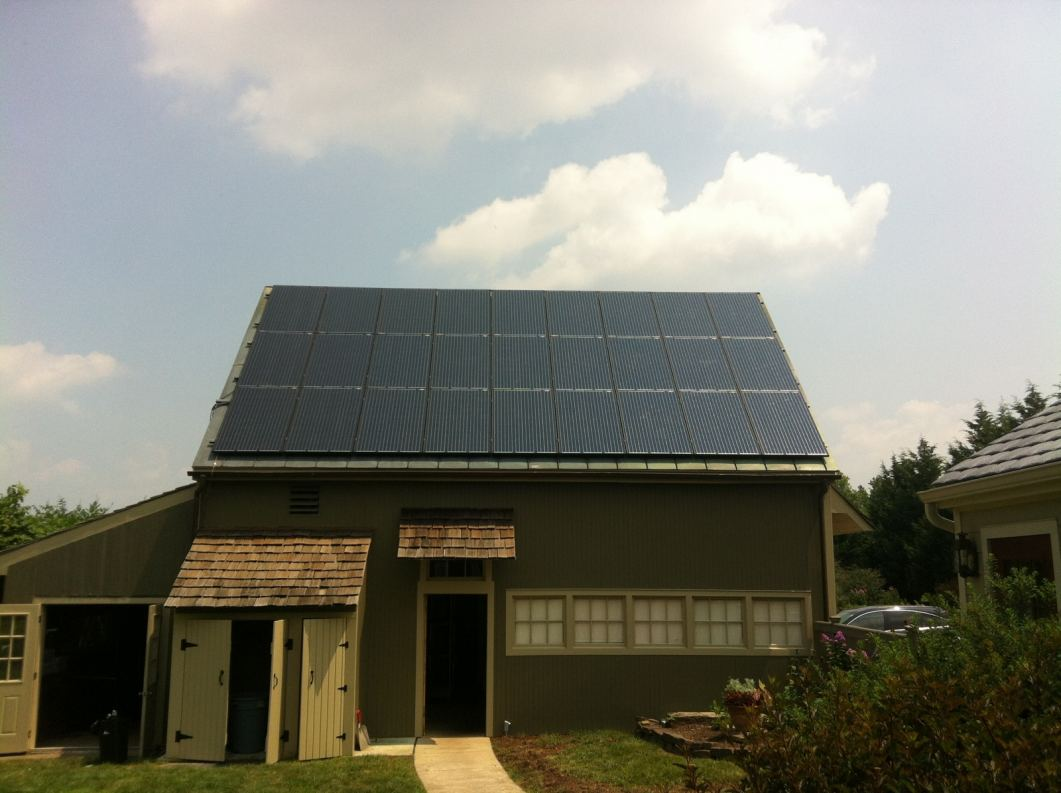Solar Photovoltaic Panels installed by Exact Solar in Pennsylvania.