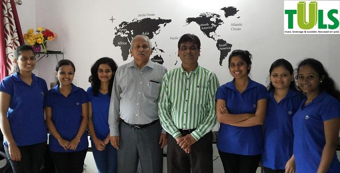 Mr. S. Ramaswamy alongwith Mr. Vaibhav, Ms. Minakshi, Kanchan & other TULSites