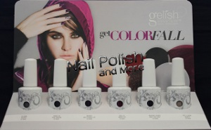 The new Gelish Get ColorFall Collection from Harmony