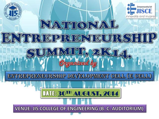 National E-Summit 2014 by JISCE