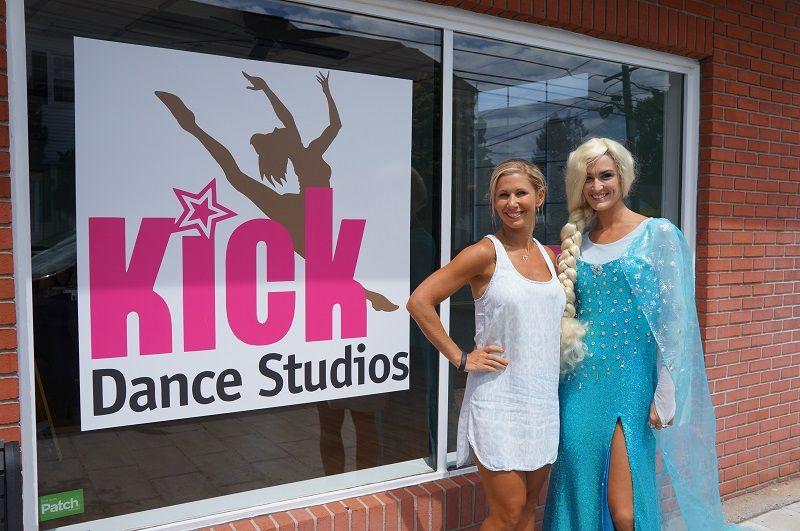 Vanessa Berry, Owner of Kick, and Queen Elsa