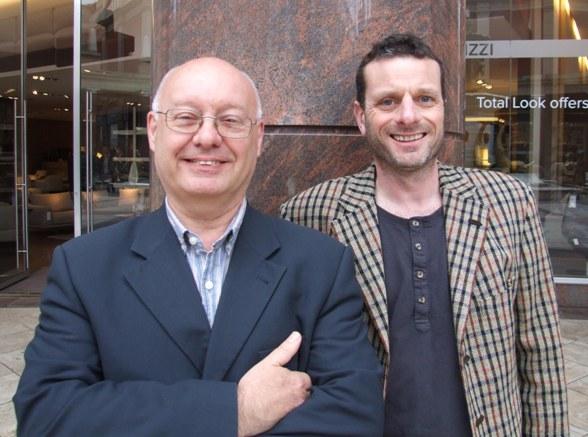 Mark Forrest and Gareth Jones