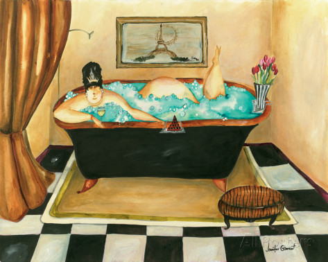 One of Jennifer Garant's numerous delightful and whimsical paintings.