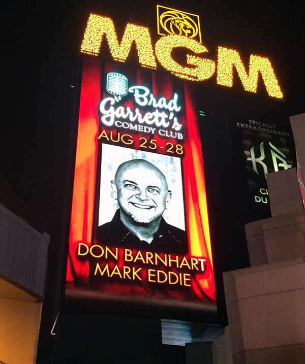 Don Barnhart Headlines Vegas