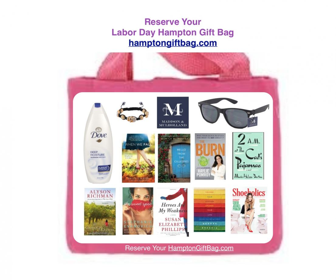 Madison & Mulholland Hampton Gift Bag Labor Day 2014