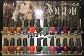 The new OPI Nordic Collection, now at Nail Polish and More