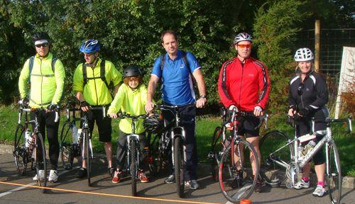 Keytek locksmiths take on the Glastonbury Bike Ride