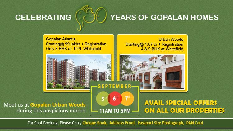 Gopalan Enterprises Exhibition in Whitefield