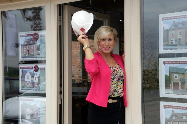 Sarahjane Giles, Davidsons Homes new area sales manager