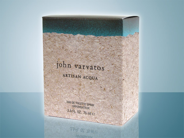 John Varvatos Artisan Acqua folding carton