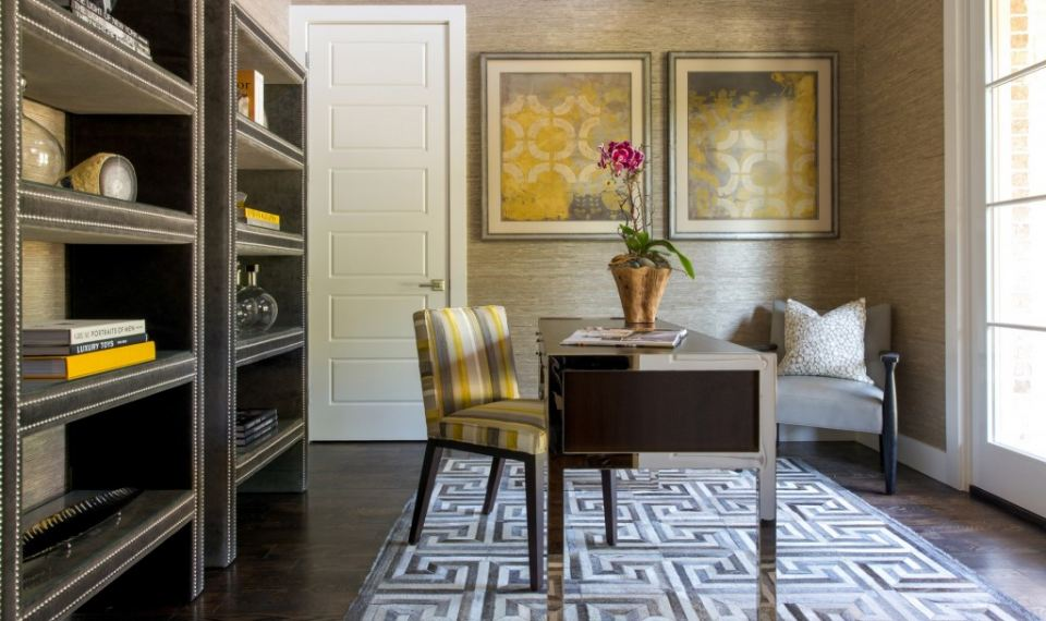Home Office By Barbara Gilbert Interiors
