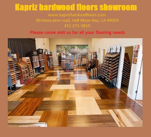 Hardwood Flooring Material in San Mateo, CA.